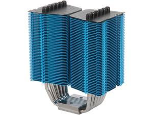 Prolimatech PRO-MGH-BL CPU cooler Megahalens Blue compatible with Intel Socket 775/1366/1156/1155/ 2011