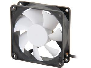 Fractal Design Silent Series R2 Black/White Silence-Optimized 80mm Case Fan