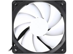 Fractal Design Silent Series R3 Black/White Silence-Optimized 120mm Case Fan
