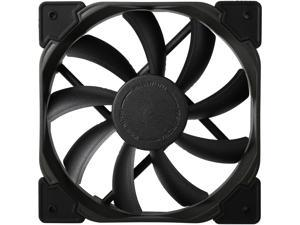 Fractal Design Venturi HF Series Black Fluid Dynamic Bearing High Airflow 120mm Case Fan