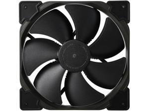 Fractal Design Venturi HP Series Black Fluid Dynamic Bearing High Pressure PWM 140mm Radiator/Heatsink Optimized Fan