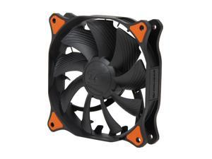 COUGAR CF-V12HPB Vortex Hydro-Dynamic-Bearing (Fluid) 300,000 Hours 12CM Silent Cooling Fan with Pulse Width Modulation (Black)