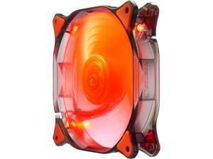 COUGAR 14CM Red LED Hydraulic (Liquid) Bearing Ultra Silent Fan 1000RPM, 73.2CFM, 18dBA