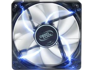 DEEPCOOL WIND BLADE 120 Hydro Bearing Semi-transparent Black Fan with Blue LED
