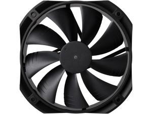 DEEPCOOL GF 140 Black FDB Bearing PWM Fan Detachable, Rubber Coating De-vibration Deep Silent