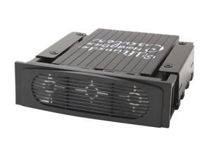 Alpha and Omega UHDC-BK UHDC HARD DRIVE COOLER (Black) W/DUAL 40 x 40 x 20MM FANS