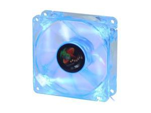 LOGISYS Computer LT80UVBL UV Blue LED Case cooler