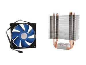 LOGISYS Computer ICE EDGE 300 MC3001IE 92mm Hydro Bearing Universal Intel / AMD CPU Cooler