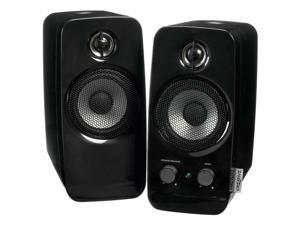 Creative Inspire T10 2.0 Speaker System - 10 W RMS - Black