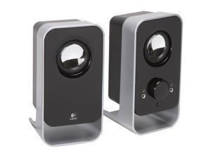 Logitech LS11 2.0 Stereo Speaker System - Black