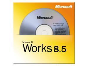 Microsoft Works 8.5 - OEM