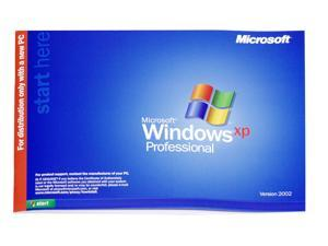 Microsoft Windows XP Professional with Service Pack SP1a - OEM
