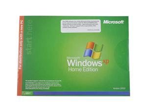 Microsoft Windows XP HOME Edition with Service Pack 2 - OEM