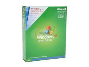 Microsoft Windows XP Home Edition with Service Pack 2