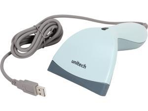 MS180-1UG - Unitech MS180 Short Range CCD Scanner – USB Cable Included (Blue)