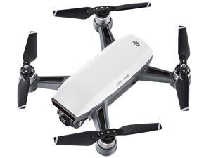 DJI Spark Palm Launch Quadcopter Drone with UltraSmooth Camera, Alpine White, CP.PT.000731