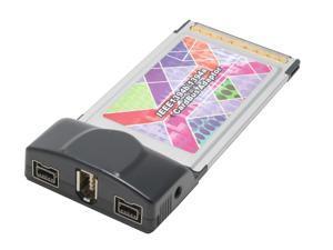 Koutech CBFW330 IEEE 1394 PCMCIA Card