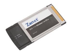 Zonet ZEW1542 802.11n Wireless Cardbus