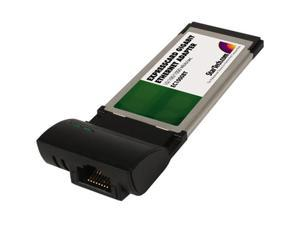 StarTech EC1000BT Gigabit ExpressCard Laptop Ethernet Network Adapter Card