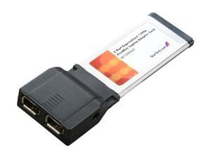 StarTech  EC13942A2  2 Port ExpressCard 1394a FireWire Laptop Adapter Card - Retail