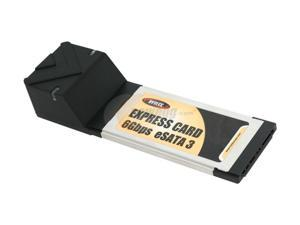 BYTECC  SATA3-EC200  6Gbps eSATA III 2 Ports ExpressCard