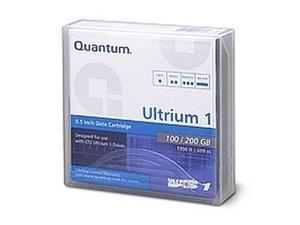 Quantum MR-L1MQN-01 100/200GB LTO Ultrium 1 Tape Media 1 Pack