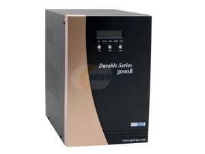 OPTI-UPS Durable Series DS3000B 3000VA 2100W True Online, Double-Conversion, High Frequency Pure Sinewave UPS with AVR & Zero Transfer Time