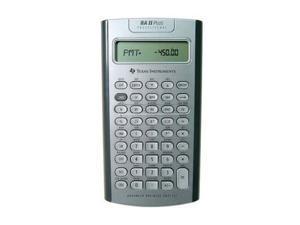 Texas Instruments BA II PLUS PRO The best-selling financial calculator