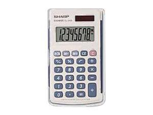 SHARP EL-243SB Twin-Powered Basic Hand-Held Calculator