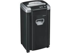 Fellowes Powershred MS460Cs Heavy-Duty Micro-Cut Shredder, 10 Sheet Capacity