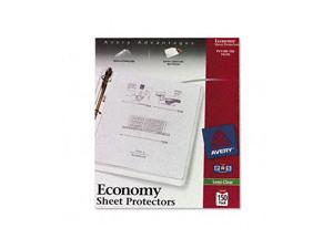 Top-Load Poly Sheet Protectors, Economy Gauge, Letter, Semi-Clear, 150/Box