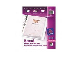 Top-Load Bound Poly Sheet Protector Sets, Standard Gauge, Letter, 10 Pages