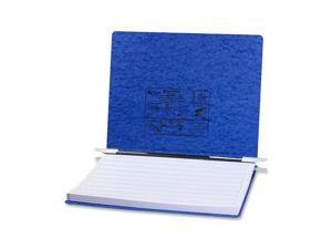 ACCO                                     Pressboard Hanging Data Binder, 14-7/8 x 11 Unburst Sheets, Dark Blue