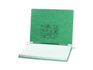 ACCO                                     Pressboard Hanging Data Binder, 14-7/8 x 11 Unburst Sheets, Light Green