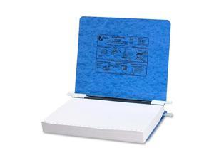ACCO                                     Pressboard Hanging Data Binder, 11 x 8-1/2 Unburst Sheets, Light Blue
