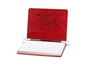 ACCO Pressboard Hanging Data Binder, 12 x 8-1/2 Unburst Sheets, Executive Red