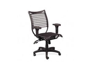 BALT 34421 Seatflex Series Swivel/Tilt Chair w/Arms, Black