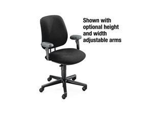 HON 7701AB10T 7700 Series Swivel Task chair, Black