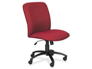 Safco 3490BG Chair, High-Back, Big & Tall, Burgundy