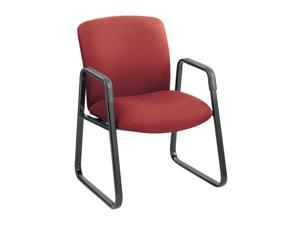 Safco 3492BG Guest Chair, Big & Tall, Burgundy
