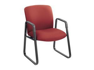 Safco 3492BG Guest Chair, Big & Tall, Burgundy