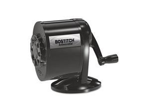 Stanley Bostitch Table-Mount/Wall-Mount Antimicrobial Manual Pencil Sharpener, Black