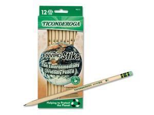 Dixon 96212 EnviroStiks Pencil, HB #2, 12/Box