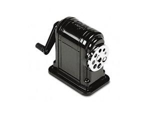 X-ACTO Boston Ranger 55 Table-Mount/Wall-Mount Manual Pencil Sharpener, Black