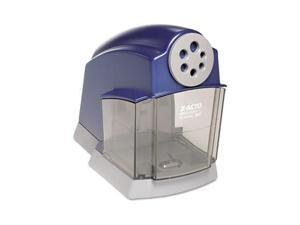 X-ACTO School Pro Desktop Electric Pencil Sharpener, Blue/Gray