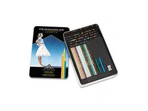 Prismacolor 4484 Drawing & Sketching Pencils, 0.70 mm, 132 Assorted Colors/Set