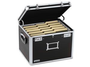 IdeaStream™                              Locking File Chest Storage Box, Letter/Legal, 17-1/2 x 14 x 12-1/2, Black