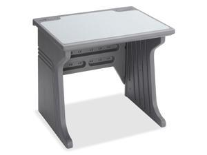 Iceberg 92202 Aspira Modular Workstation Desk, Resin, 34w x 28d x 30h, Charcoal