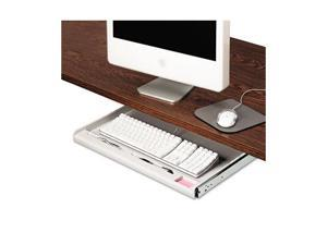 Innovera 53000 Standard Underdesk Keyboard Drawer, Light Gray
