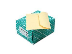 Quality Park™                            Open Side Booklet Envelope, Traditional, 12 x 9, Cameo Buff, 100/Box